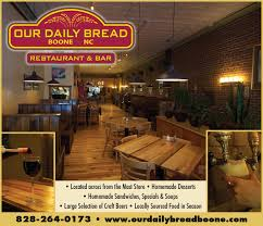 our daily bread the high country