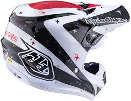 white motocross helmets troy lee designs se4 twillight carbon white motocross helmets troy
