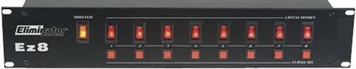 Eliminator Lighting Eliminator Lighting Ez 8 Channel Lighting Controller Power Control