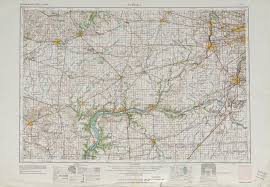 Topographic Map United States by Aurora Topographic Map Sheet United States 1958 Full Size