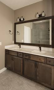 Rustic Birch Kitchen Cabinets Bathrooms Harlow Builders Inc