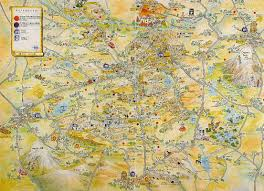 cappadocia map turkey travel guide