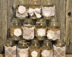 jar wedding centerpieces jar wedding etsy