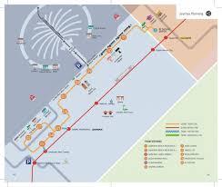 Metro Station Map In Dubai by Dubai Metro And Tram Map Dubai Metro Map With Tram United Arab