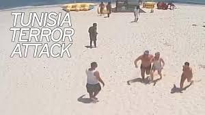 horrifying cctv shows holidaymakers fleeing gunman during tunisian