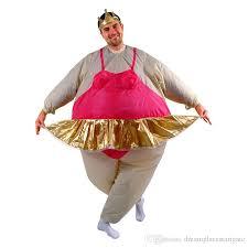 Inflatable Costume Halloween Cosplay Inflatable Ballerina Dancer Costume Polyester