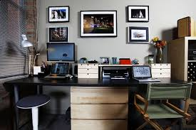 decorations cool modern home office design ideas with l shape