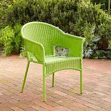 Lime Green Patio Furniture by Possibility For Outdoor Dining Chairs Green All Weather Wicker