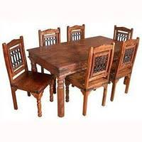 indian wood dining table wooden dining table set in rajasthan manufacturers and suppliers india