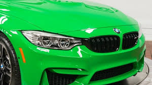 green bmw m4 brand new signal green bmw m4 costs 86 042