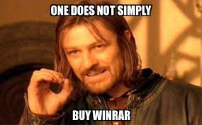 Buy Meme - one does not simply one does not simply buy winrar meme explorer