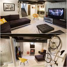 basement creative basement media room basement remodel 91