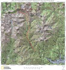 Alps Mountains Map Emerald And Sapphire Lakes Trinity Alps Aug 2012 Ltbackpackers