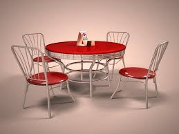 Diner Style Kitchen Table by Retro Kitchen Table Kitchen Tables Diner Booth Set Perfect For