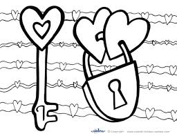 valentine free printable valentines coloring pages free