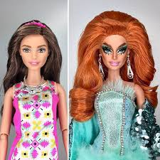 artist turned barbie dolls drag queens rupaul u0027s