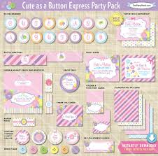 as a button baby shower decorations as a button baby shower decorations printable express