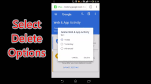 how to delete search history on android how to delete all search history on android phone