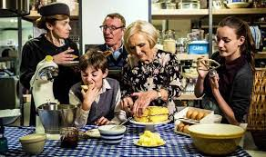 cuisine tv programmes family embark on journey to dine through the decades for tv