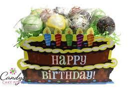 birthday cake pops festive birthday cake pop box candy s cake pops