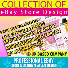 pink body spa ebay store design template for 29 99 ebay product