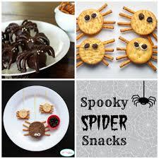 halloween spider snacks u2013 a to zebra celebrations