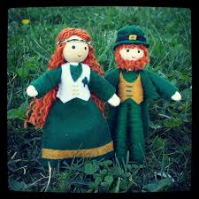 leprechaun doll wildflower toys