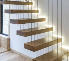 floating stairs construction elegant unique ideas interior stair