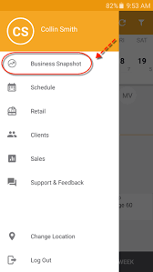 android snapshot business snapshot business app android