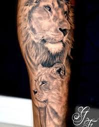 download lion side view tattoo danielhuscroft com