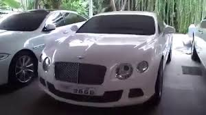 bentley chennai the collection of cars owned by the son of ram mohan rao youtube