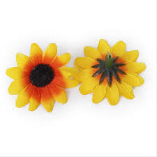 Sunflowers Decorations Home by Popular Plastic Sunflowers Buy Cheap Plastic Sunflowers Lots From