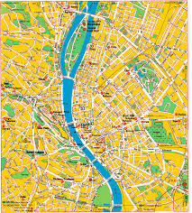 Budapest Hungary Map Hungary Map Tourist Attractions Travelquaz Com