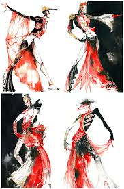 inspiring fashion sketches u0026 illustrations