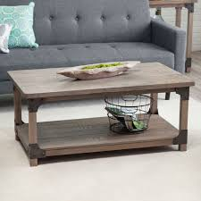 gray reclaimed wood coffee table 20 best gray wood coffee tables