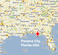 map of panama city panama city fl map my