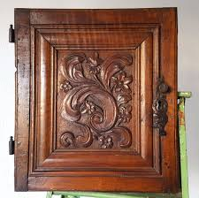 carved wood cabinet doors cabinet panel door antique french carved wood salvaged chateau