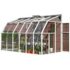 6ft X 8ft Greenhouse Rion Sun Room 2 Greenhouse U2014 6ft L X 14ft W Model Hg7514 Green