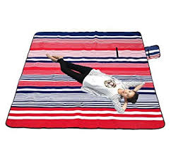 Outdoor Picnic Rug Large Outdoor Picnic Blanket With Waterproof Backing 200 X