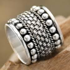 silver band mens band rings at novica