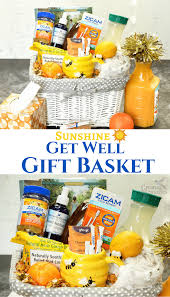 get better care package diy of get well gift basket for the common cold
