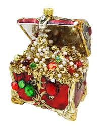 treasure chest christmas ornament christmas ornaments