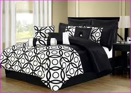 Black And White Comforter Full Special 9 Piece King Serbia Black Comforter Set 6 In Black And