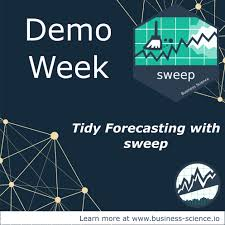 visualization of the week forecasting demo week tidy forecasting with sweep