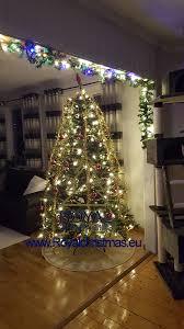 artificial christmas tree michigan pe pvc premium with led