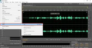 como converter um arquivo wave para mp3 no adobe audition