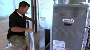 how to replace a furnace filter youtube