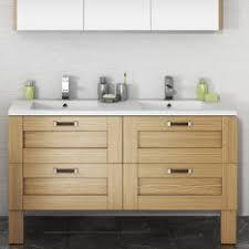 meuble salle de bain bois en ch礫ne massif salle de bain discac