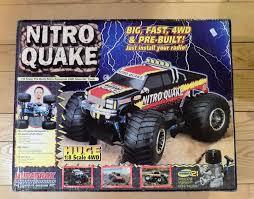 duratrax nitro quake 1 8 scale 4wd monster truck dtxc0073 maxx