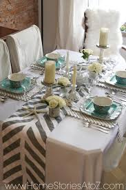 how to make a table runner with pointed ends how to make a painted table runner home stories z pertaining ideas 7